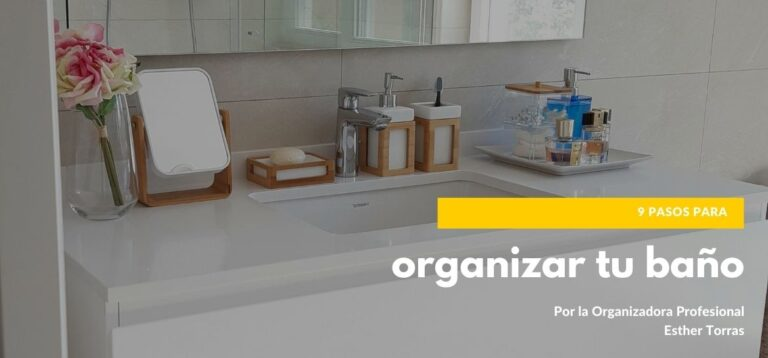 9 simple steps to organize our bathroom