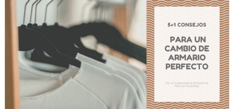 5 + 1 tips for the perfect wardrobe change