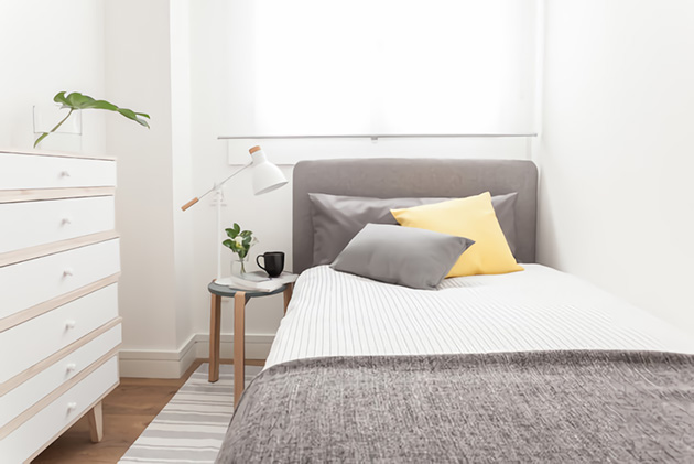 101 ideas for decorating small bedrooms, rooms and rooms