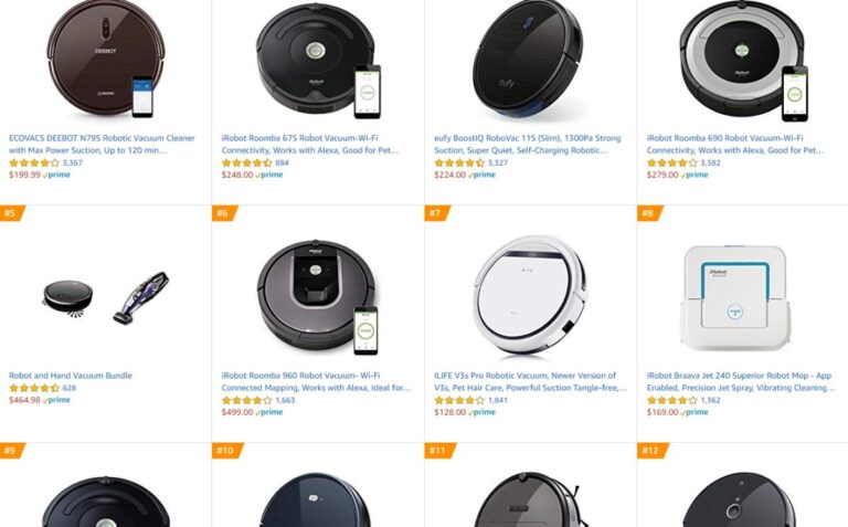 Review Best Robot Vacuum Cleaners