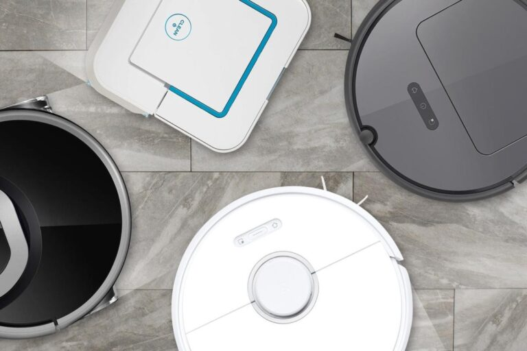 Robot Vacuum And Mopping Cleaner
