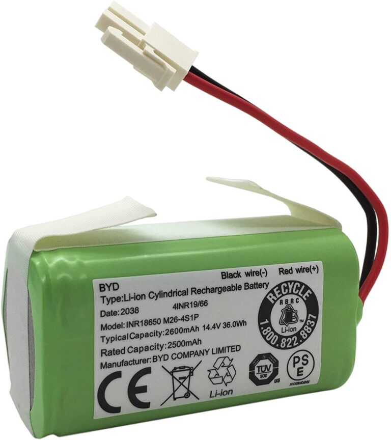 Robot Vacuum Cleaner Replacement Battery