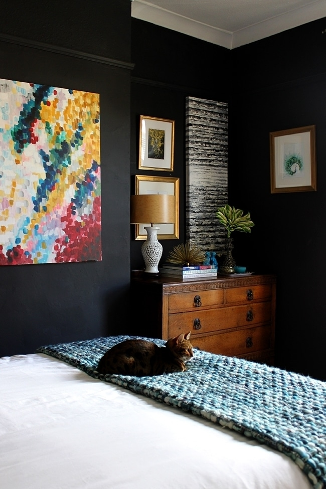 13 ideas for painting and decorating the walls with a hotel