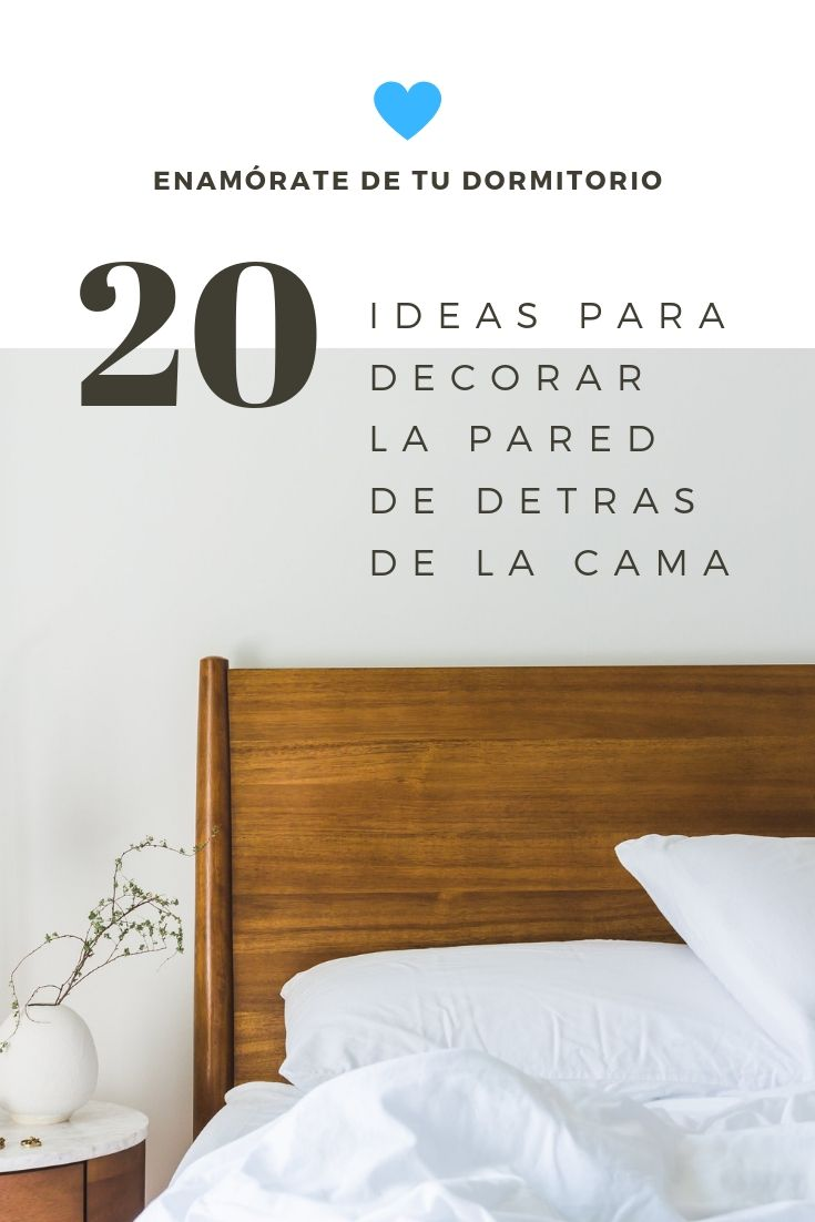 Fall in love with your bedroom by decorating the wall behind the bed with these ideas