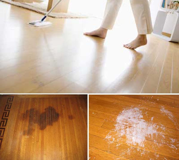 Tricks for cleaning and maintaining pallets and parquet.