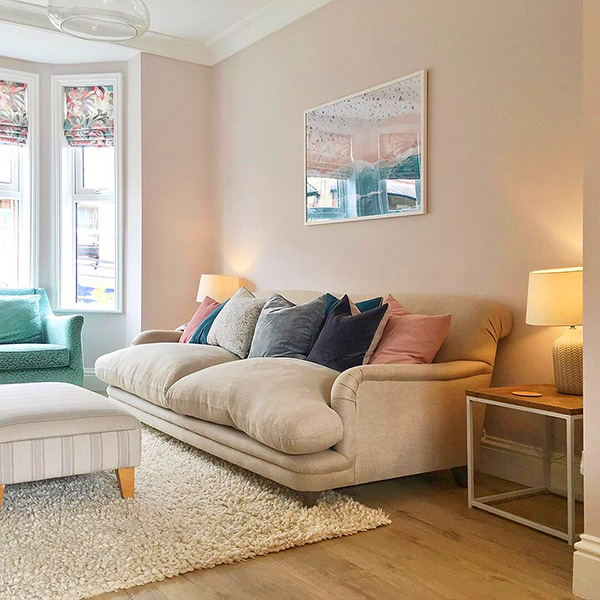 17 intoxicating shades or pastel colors to paint the living room