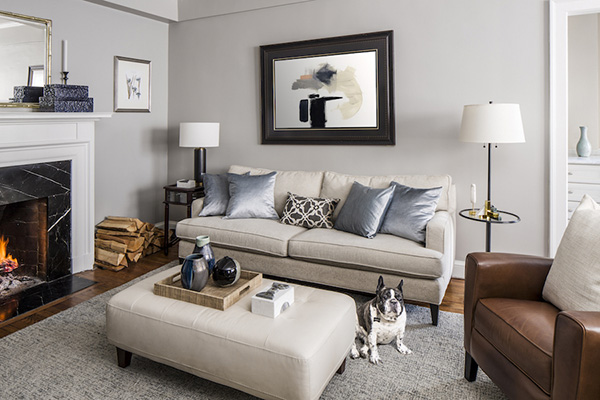 55 photos and ideas for painting and decorating a room or living room.