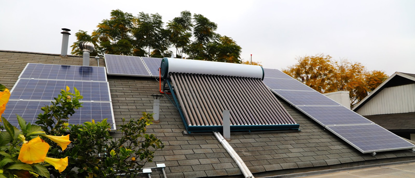 How to install solar thermal energy at home