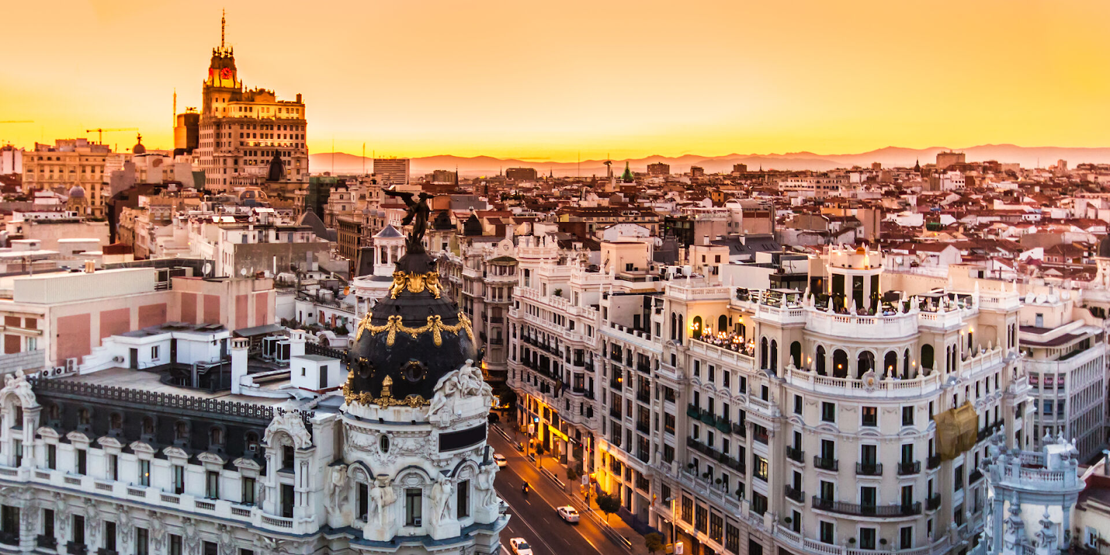Números is building to rent Madrid