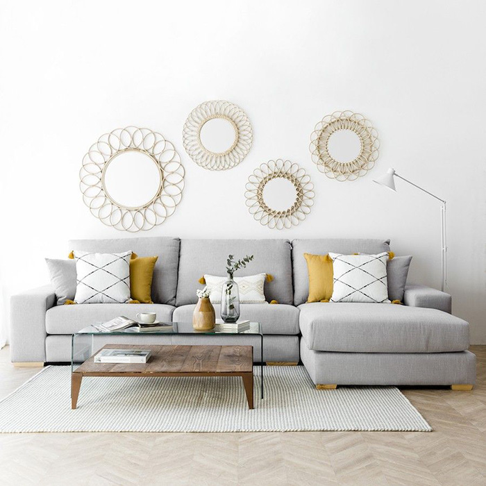 Wall paints and pillows