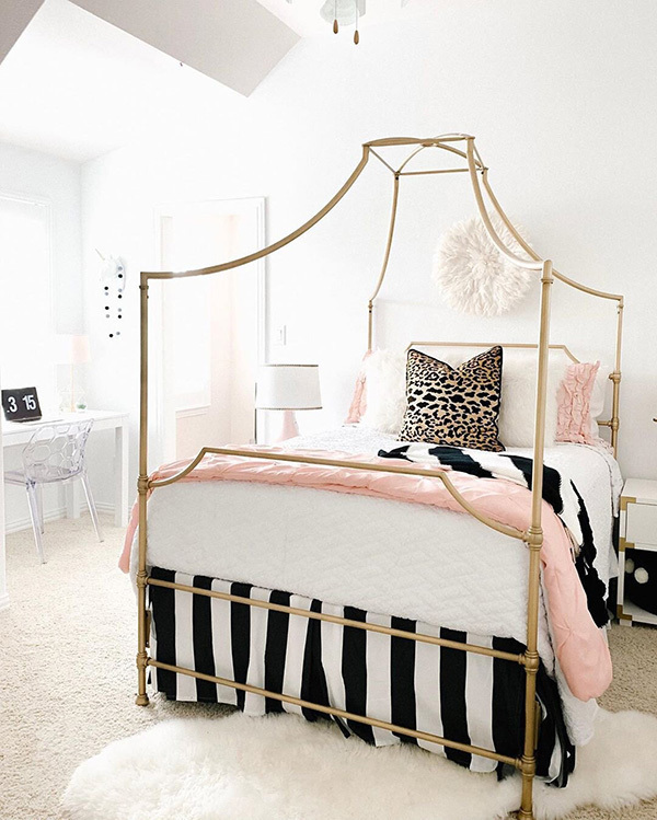 50 ideas for decorating a teenage girl's room or bedroom