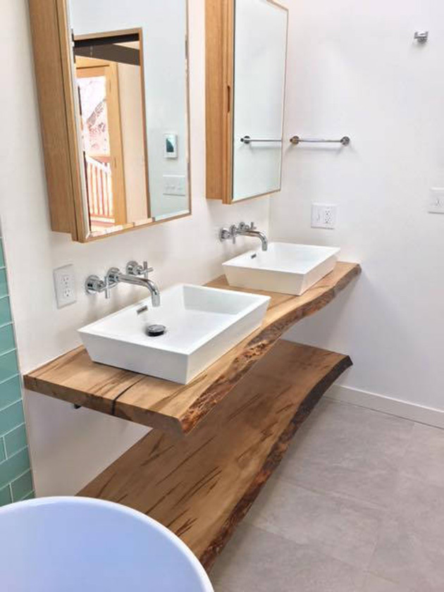 15 ideas for making a home bathroom cabinet