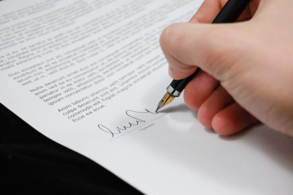 What is a partnership agreement?