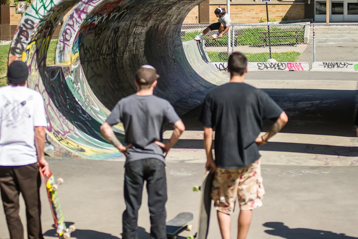 The best skate park in Canada