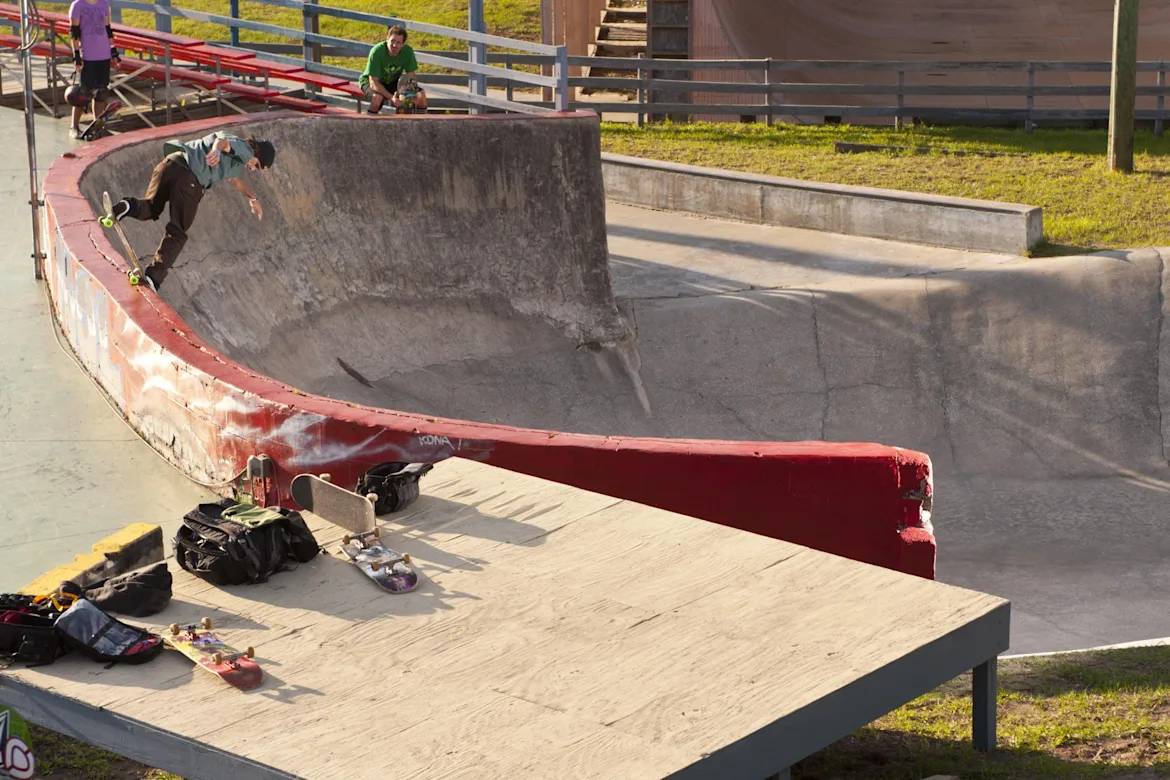 Where can you skate in the United States?