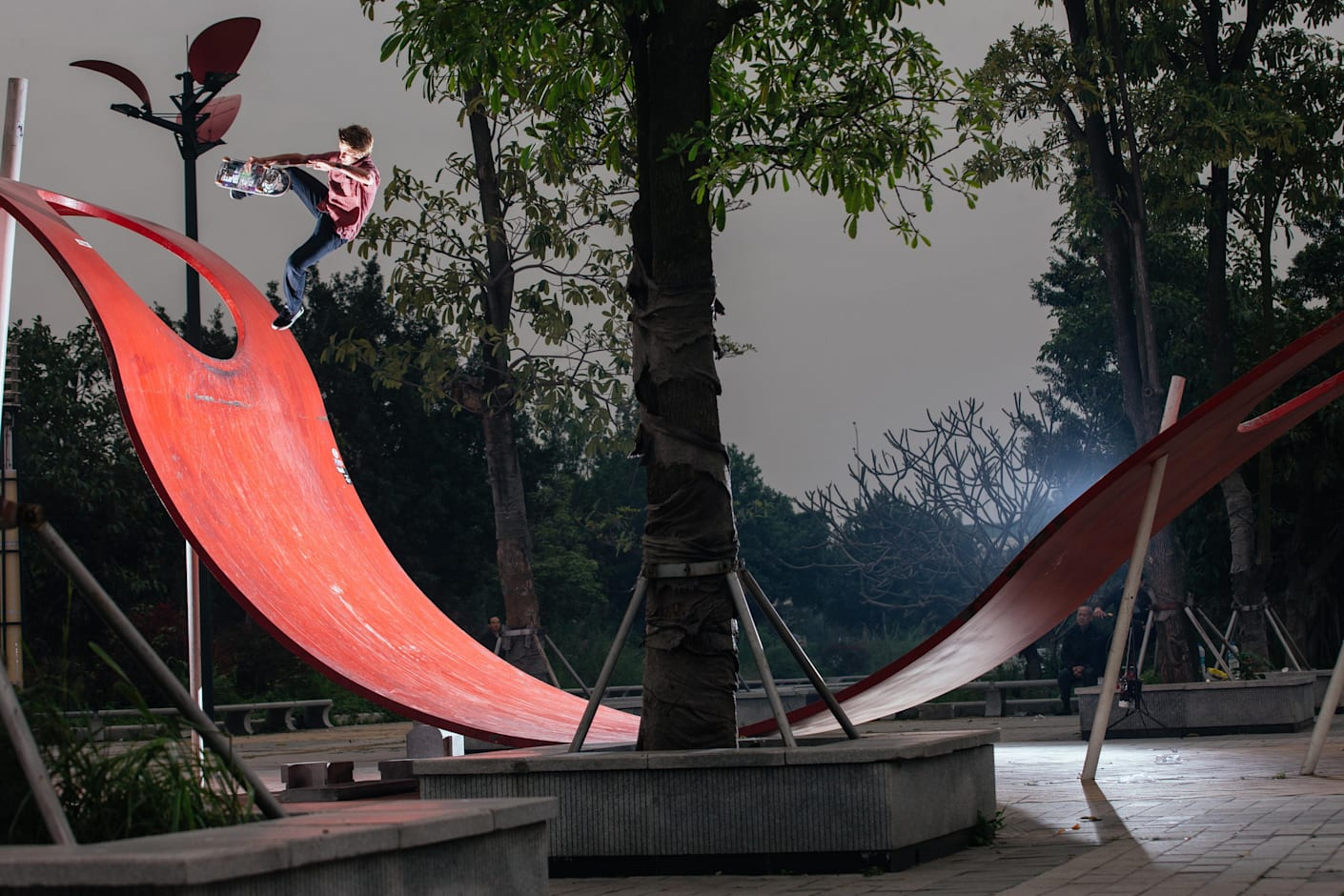 China and a passion for skateboarding
