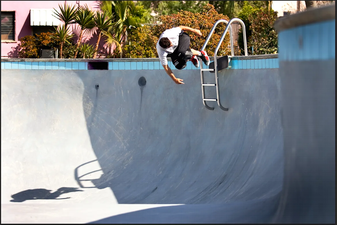 How to turn a pool into a skate park