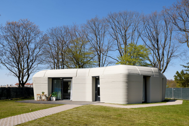 Did you know that these houses are 3D printed?