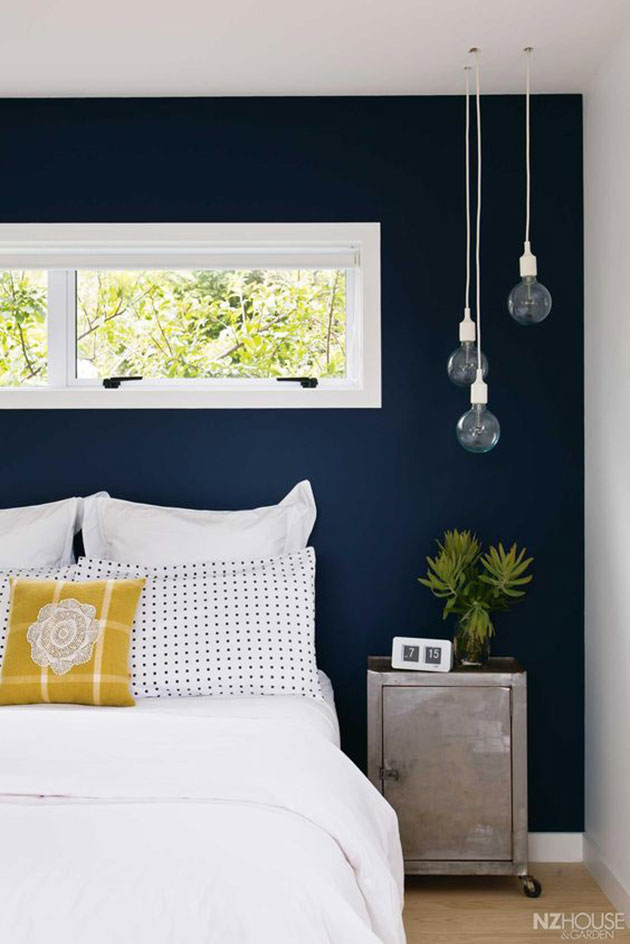 How to paint a bedroom headboard wall