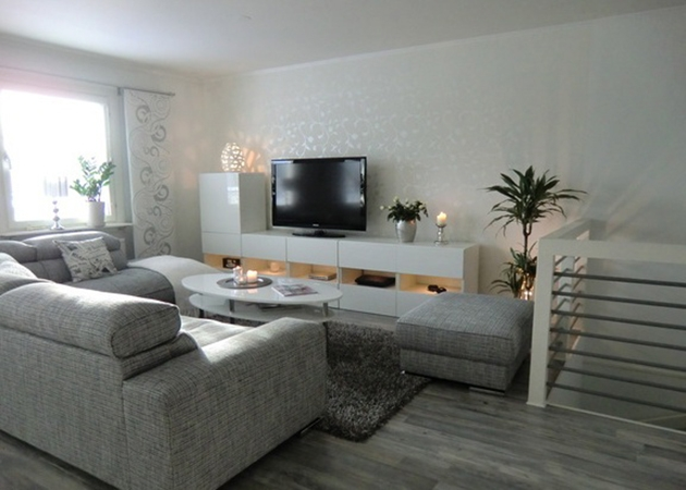 The idea to assemble the BEST IKEA TV cabinet for the living room, in white