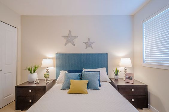 Decoration of bedrooms, rooms, small and modern rooms
