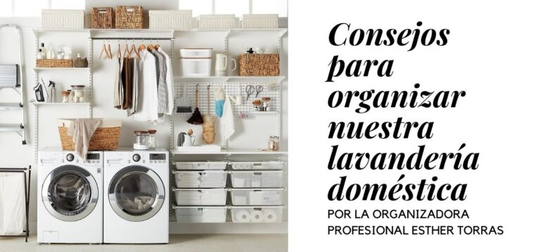 Tips for organizing home laundry
