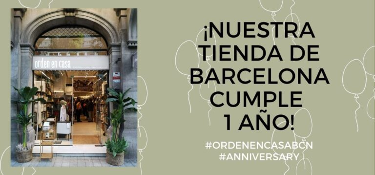 Order at home Barcelona is 1 year old!