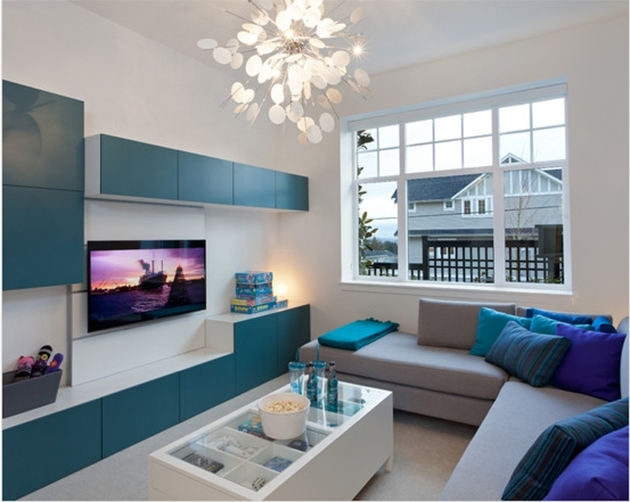 25 photos and ideas BESTA IKEA combination for the living room