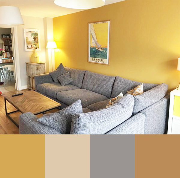 40 color combinations for painting the living room