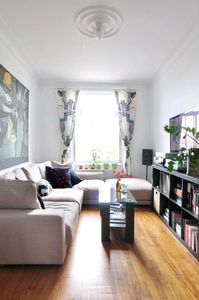 Solutions for a narrow room