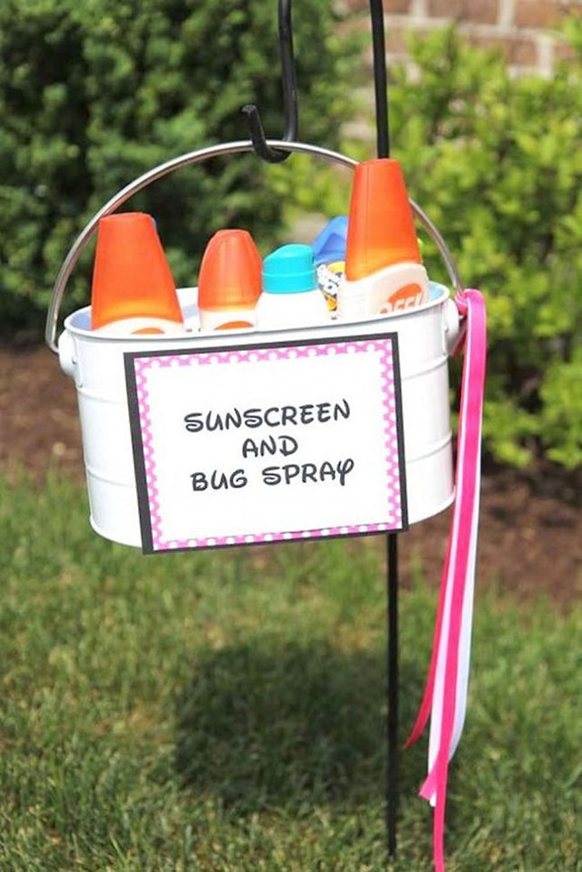 In summer, don't miss the sun protection for your garden and pool fun