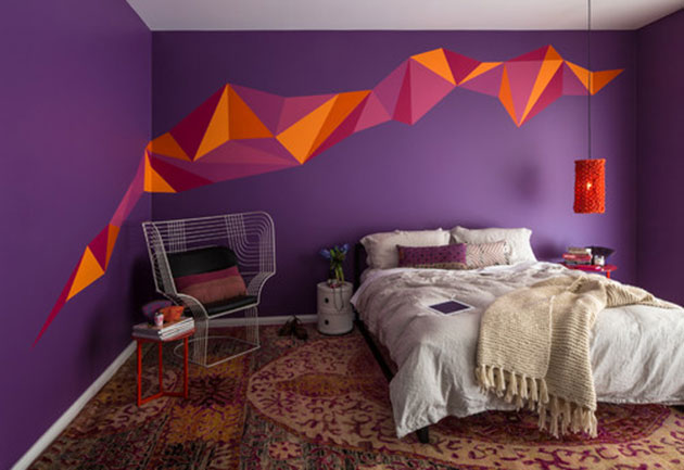 12 colors that are best combined with purple in the decoration