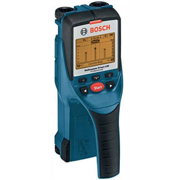 Detectors for pipes, electrical cables, wood and metal