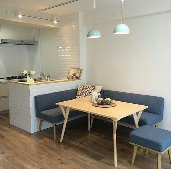 15 small, modern and practical dining kitchens