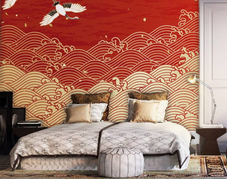 Colors that combine with gold in the decoration and walls