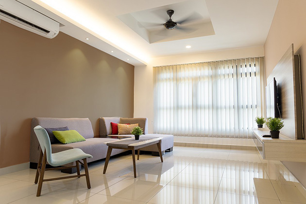 16 warmest colors for painting and decorating the living room